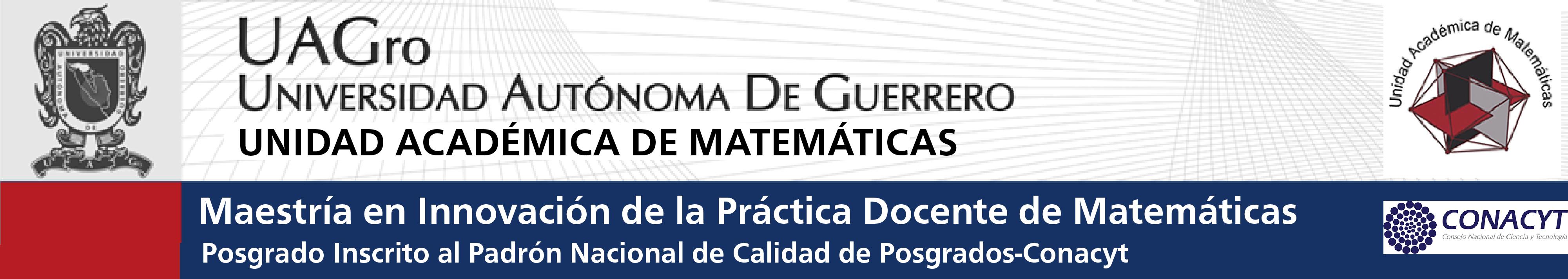 Maestría en Innovación de la Práctica Docente de Matemáticas